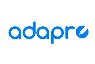 Logotipo de la aplicación Adapro.