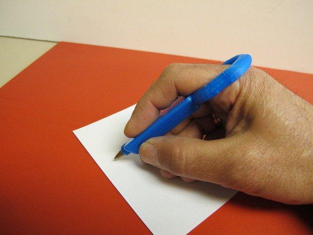 Bolígrafo forma de anillo