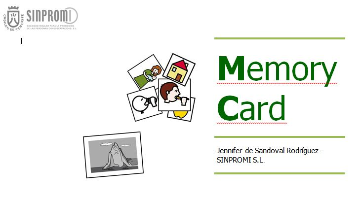 Portada del material Memory Card