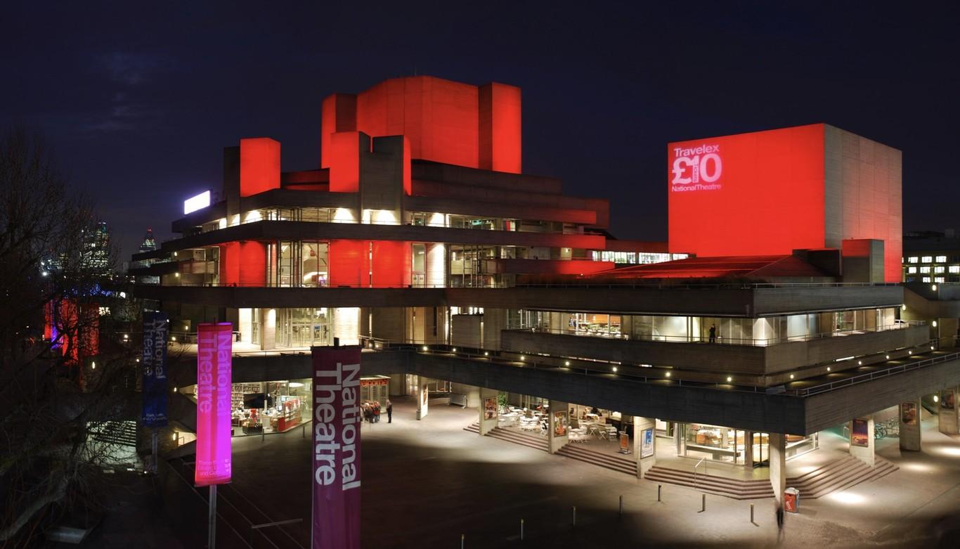 Fachada del Teatro de Londres