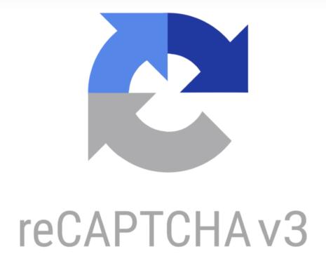 Logo de reCAPTCHA versión 3