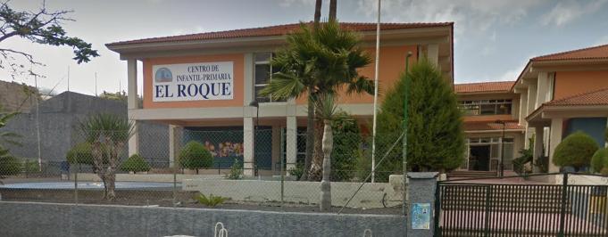 Fachada del CEIP El Roque