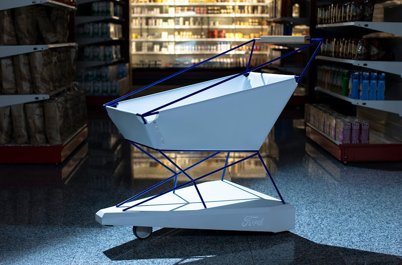 Prototipo de carrito diseñado por Ford.