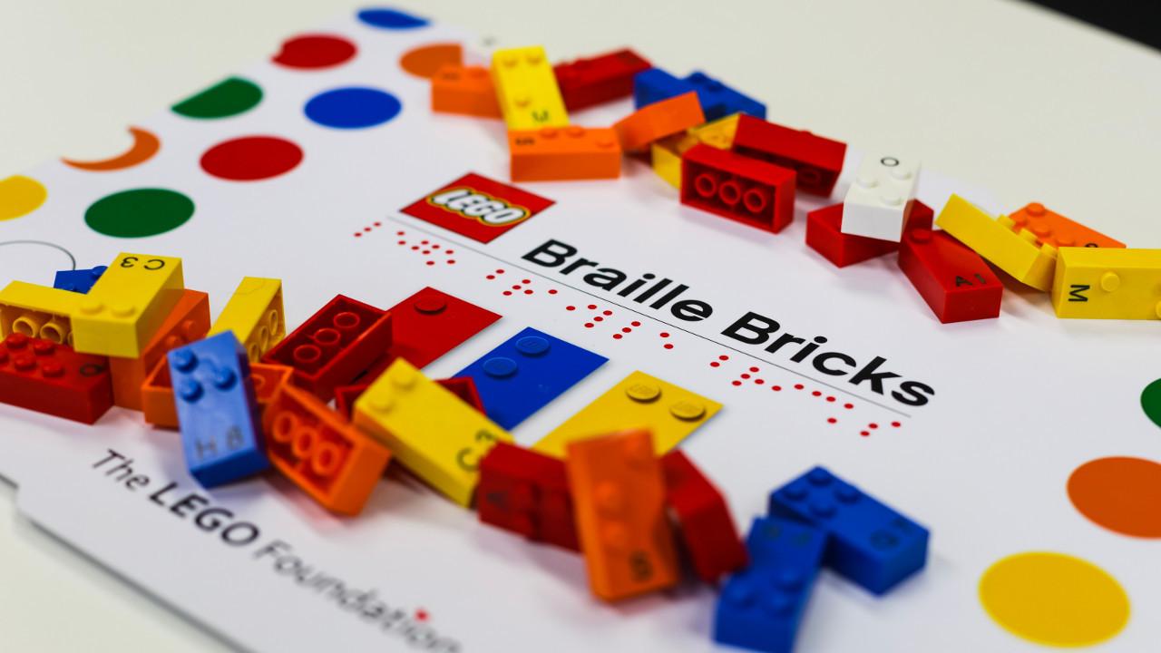 Legos con braille.
