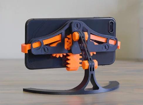 Modelo 3D de un soporte articulado para móvil