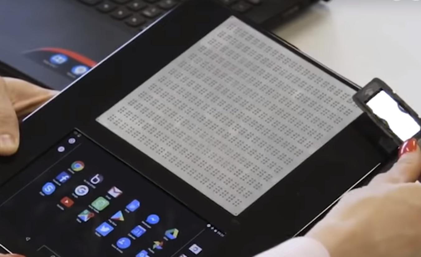 Blitab, la tablet con pantalla en braille