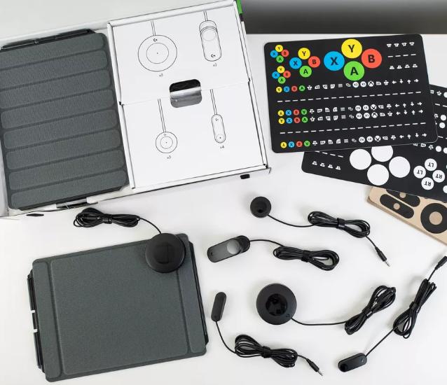 Foto del kit Logitech G Adaptive Gaming
