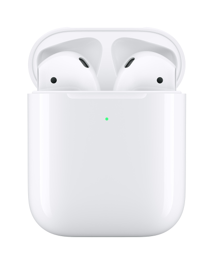 Fotografía de los Airpods de Apple