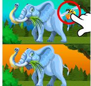 Logo de aplicación encuentra 10 diferencias