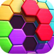 Logotipo de la aplicación Hexa Puzzle héroe