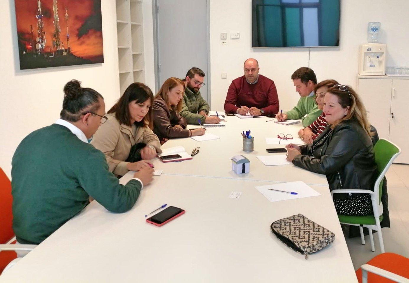 Foto de los asistentes a la reunión