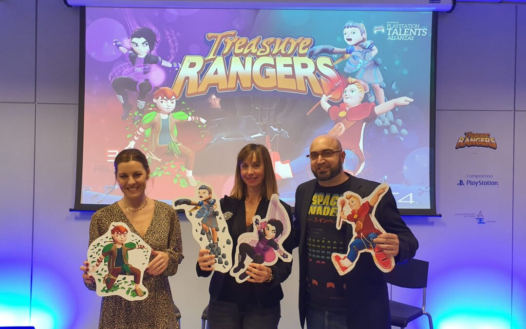 Imagen de la presentación del juego en Autismo Madrid