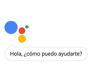 Captura de pantalla de Google Assistant