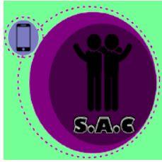 Logotipo de la aplicación SAC