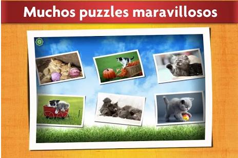 pantalla de elección de puzzles