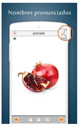 pantalla de foto real de frutas