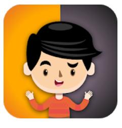 logotipo de la apliación enseña emociones a tus hijos