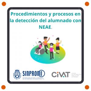 Procedimientos y procesos en la detección del Alumnado de Necesidades Específicas de Apoyo Educativo (NEAE).