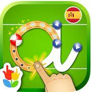 Logo de la aplicación Aprender a leer y escribir. Juego de ABC alfabeto