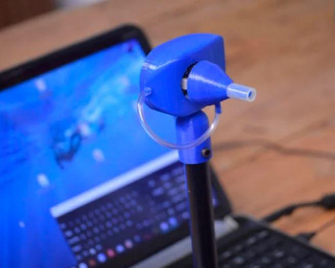Ratón de boca impreso en 3D