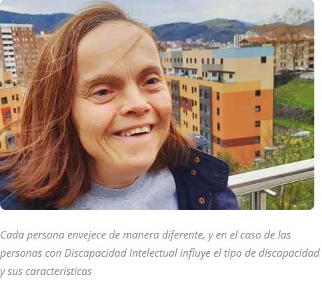 Persona mayor con discapacidad intelectual
