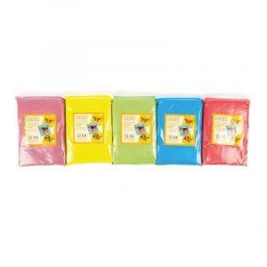 5 bolsas de arenas de colores