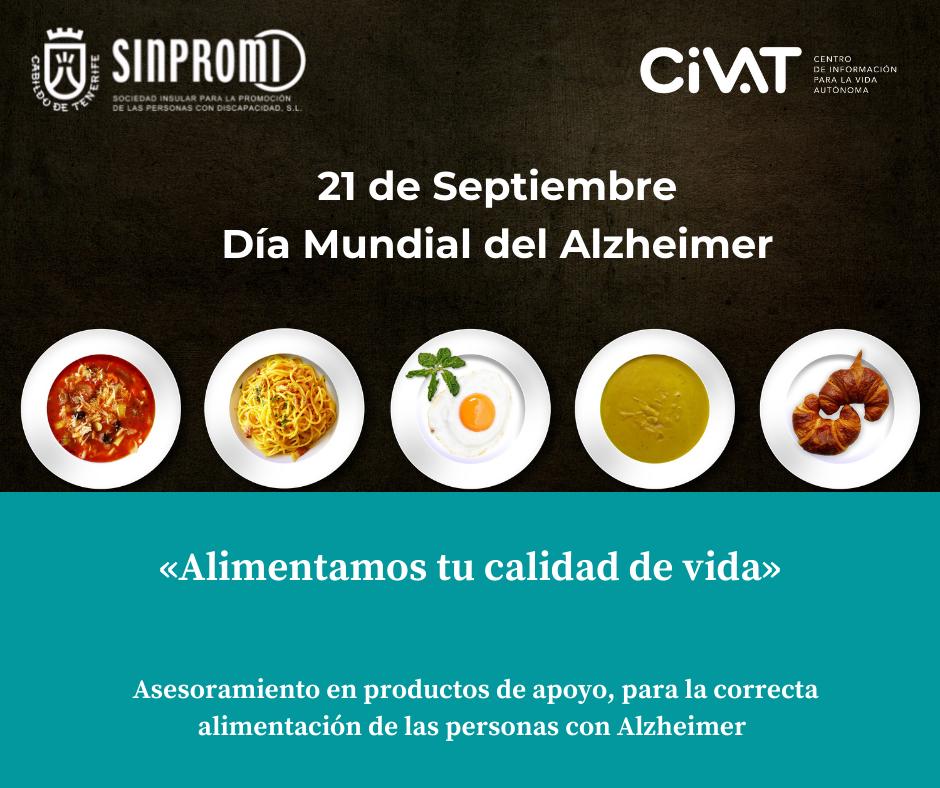 Imagen sobre alimentación personas con Alzheimer