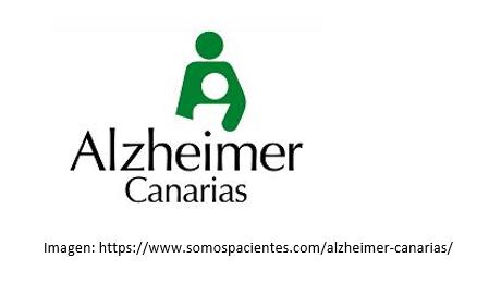 Logo oficial de Alzheimer Canarias